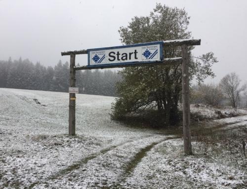 Der erste Schnee ist zum Start der Wintersaison 2019/20 gefallen.