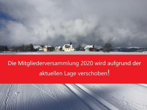 Mitgliederversammlung Club-Thurnerspur wird verschoben2020